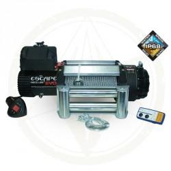 Naviják Escape EVO  9500 lbs [4310 kg] 12V, IP68 ocelové lano