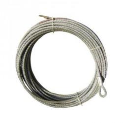 Ocelové lano 28 metrů 9,1mm